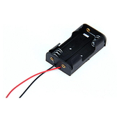 【DY307】3號電池座 電池盒3號2槽不含蓋 電池座 2節串聯3V塑料電池盒 EZGO商城