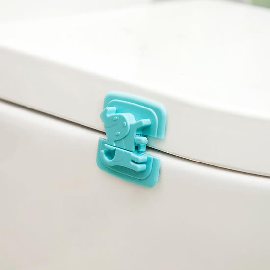 ♚MY COLOR♚小狗造型移動安全鎖 兒童 防護 冰箱 櫥櫃 鎖扣 防夾 掉落 保護 直角 黏貼【Q311】