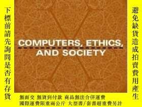 二手書博民逛書店Computers罕見Ethics And Society-計算機倫理與社會Y436638 M. David
