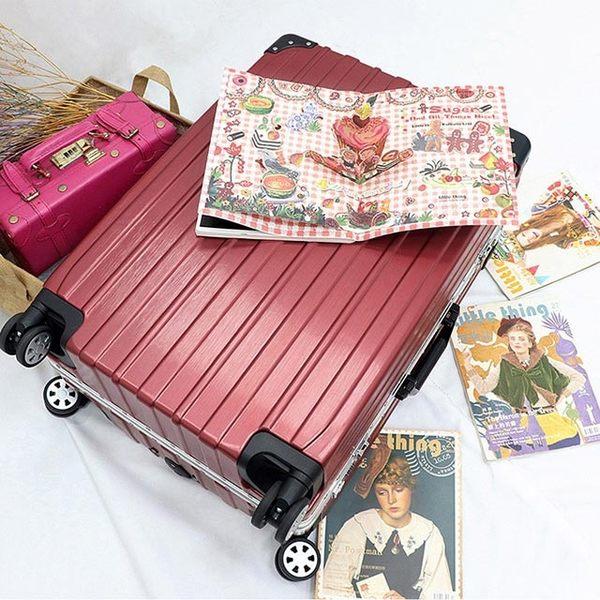 行李箱 旅行箱AoXuan 26吋PC拉絲鋁框箱 雅爵系列