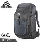 【GREGORY 美國 TETRAD 旅行背包《像素黑》60L】121119/雙肩背包/後背包/子母包/自助旅行