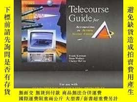二手書博民逛書店Student罕見Telecourse Guide Volume 1 Chapters 1-13 For Use