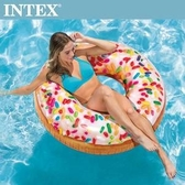 【INTEX】糖果DONUT游泳圈114cm 適用9歲+(56263)