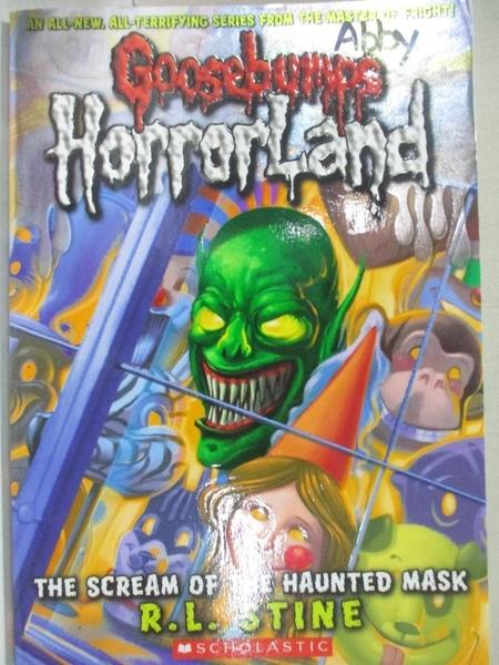 【書寶二手書T5/少年童書_G7L】The Scream of the Haunted Mask_Stine, R. L.