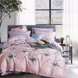 BUTTERFLY-吸濕排汗天絲四件式薄床包涼被組-晴天-粉(雙人)