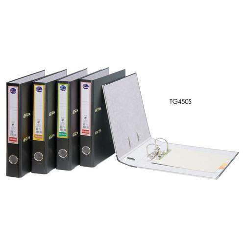 【奇奇文具】同春TON CHUNG TG450S  270×307×45mm 黑色西式拱型夾(1箱12個)