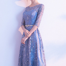 (45 Design) 長洋裝晚禮服禮服晚宴長禮服e黑色長禮服伴娘服中長禮長裙婚禮洋裝19