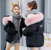 秋冬羽絨外套冬季羽絨棉服女短款學生韓版寬鬆面包服棉襖蓬蓬原宿風