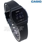 CASIO卡西歐 運動休閒風格設計 電子錶 LW-204-1B 橡膠錶帶 學生錶 LW-204-1BDF 黑色