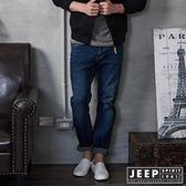 【JEEP】美式西部經典牛仔褲 (深藍)