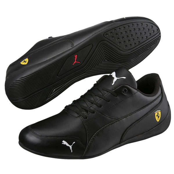 Puma SF Drift 7 黑 全黑 休閒鞋 法拉利 賽車鞋 皮面 男鞋 女鞋 運動 休閒鞋 30599805