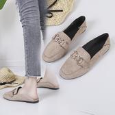 豆豆鞋單鞋女平底奶奶鞋潮鞋夏季新款百搭豆豆鞋孕婦鞋女護士鞋軟底時尚新品