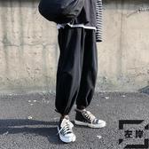 哈倫褲韓版束腳褲男秋冬寬松闊腿百搭褲子工裝【左岸男裝】