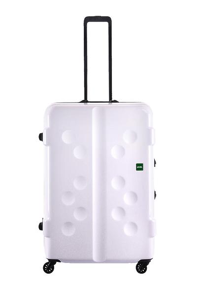 CROWN皇冠  (促銷價65折) LOJEL CARAPACE 鋁框行李箱/旅行箱-27吋-白