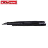 【南紡購物中心】日本NT Cutter碳黑金屬身Premium 2A型美工刀PMGA-EVO2(30°高碳鋼黑刃刀片自鎖)