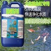 除藻劑 5L錦鯉魚池除藻劑褐藻綠藻清青苔凈菌除苔素去苔除綠水劑 米家