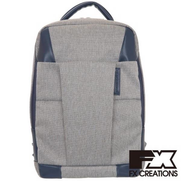 FX CREATIONS-WEA系列-專利減壓背帶 小後背包-淺灰-WEA69752A-21