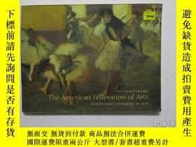 二手書博民逛書店THE罕見AMERICAN FEDERATION OF ART(