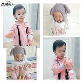 寶寶手套秋冬季0-1-3歲2嬰兒幼兒手套兒童小孩女童保暖加絨厚可愛