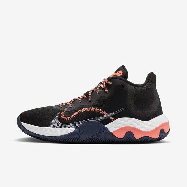 Nike Renew Elevate [CK2669-006] 男鞋 籃球鞋 貼合 包覆 舒適 柔軟 支撐 止滑 黑 橘