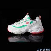 【增高設計款】SKECHERS 女休閒運動鞋 DLITES 3.0 高彈性設計舒適好穿 適久走久站  【3597】