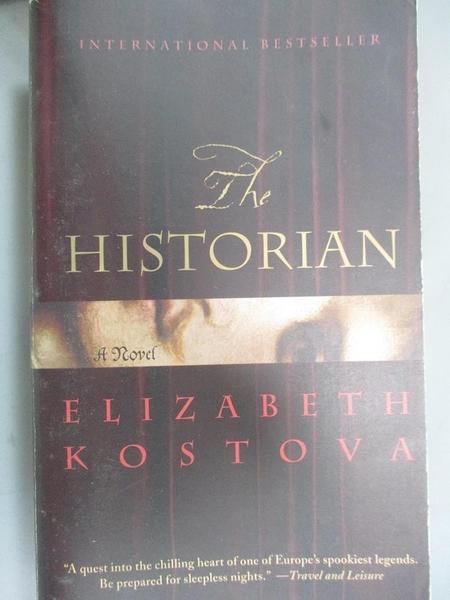 【書寶二手書T6/原文小說_ODI】The Historian_Elizabeth Kostova