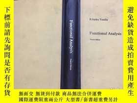 二手書博民逛書店泛函分析罕見Functional Analysis 英文 第四版