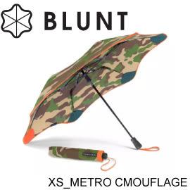 【BLUNT 紐西蘭 XS_METRO (Camouflage) 迷彩折傘《迷彩橘XS》】BLT-CM02/摺疊傘/自動傘★滿額送