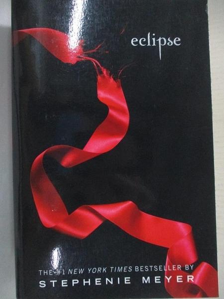 【書寶二手書T2/原文小說_CUE】Eclipse_Meyer, Stephenie