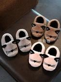 寶寶棉拖鞋1-3歲男冬季室內防滑兒童拖鞋女童毛毛鞋小孩包跟棉鞋 鹿角巷