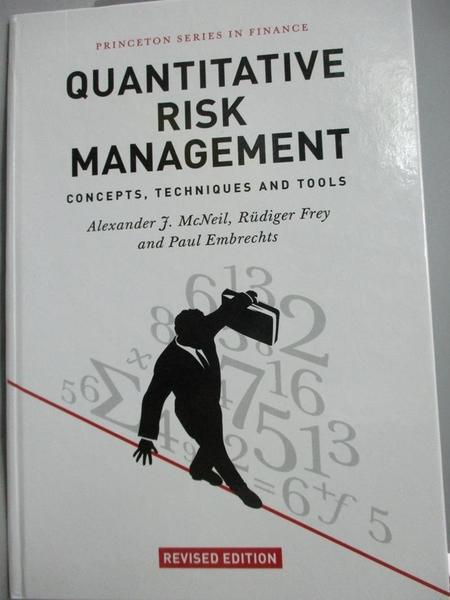 【書寶二手書T6/科學_YGE】Quantitative Risk Management: Concepts, Tech