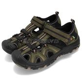 Merrell 戶外鞋 Hydro 運動鞋 越野 登山 綠 黑 涼拖鞋 大童鞋 中童鞋 童鞋 女鞋【PUMP306】 MK260856