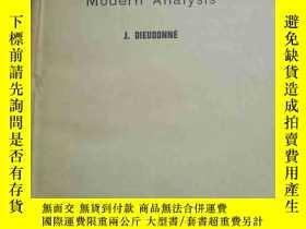 二手書博民逛書店【英文版】foundation罕見of modern analysis現代分析基礎Y1627 J.DIEUDO