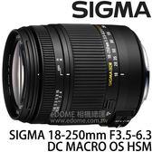 SIGMA 18-250mm F3.5-6.3 DC MACRO OS HSM 防手震鏡頭 (24期0利率 免運 恆伸公司貨三年保固) 旅遊鏡
