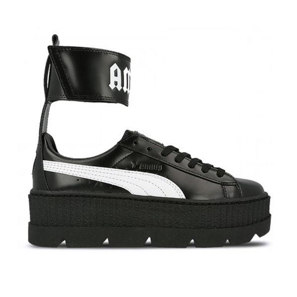 【GT】Puma W Ankle Strap Fenty By Rihanna 黑 女鞋 現貨 皮革 魔鬼氈 厚底鞋 蕾哈娜 366264-03