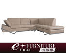 『 e+傢俱 』BS7 克雷頓 Creighton  簡約淬鍊 L型沙發 牛皮沙發 | 皮質 | L型沙發 可訂製