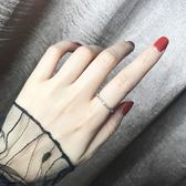 食指戒指女日韓潮人簡約學生時尚韓版個性開口戒大氣清新 東京衣櫃
