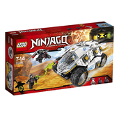 【LEGO 樂高 積木】70588 忍者Ninjago 鈦忍者衝鋒巨輪戰車