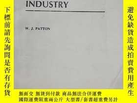 二手書博民逛書店Materials罕見in Industry工業材料 第3版Y153827 W.J. Patton Prent