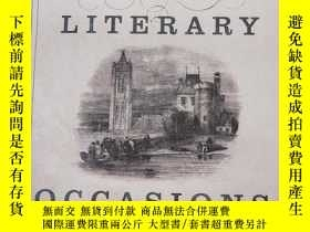 二手書博民逛書店Literary罕見Occasions: EssaysY1565