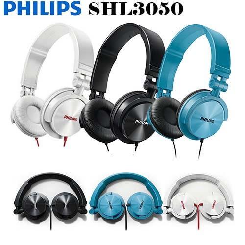 飛利浦 PHILIPS SHL3050 (贈收納袋) 可摺疊耳罩式耳機 ,公司貨保固一年,原價1290