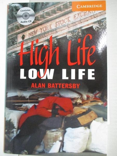 【書寶二手書T9/原文小說_IJ3】CER4: High Life, Low Life (BK+CD Pack)_Battersby, Alan