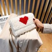 手工編織包包diy材料包毛線網格自制泫雅女包抖音同款斜背包/側背包成品