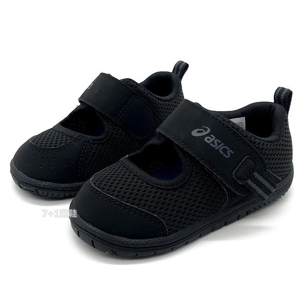 《7+1童鞋》小童 ASICS 亞瑟士 AMPHIBIAN BABY SR 2 速乾 透氣網布 機能涼鞋 5254 黑色