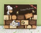 【震撼精品百貨】史奴比Peanuts Snoopy ~SNOOPY便條紙-餅乾#82592