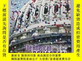 二手書博民逛書店The罕見American Democracy Seventh