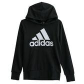 Adidas ESS LIN P/O FT  連帽長袖上衣 CW3861 男 健身 透氣 運動 休閒 新款 流行