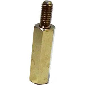 [ 中將3C ]  細牙銅柱4入 15mm*6 55-5205-AS