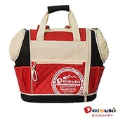 DaisukiCS02雙露頭後背寵物袋(L)CS02-LR-紅黑(L)