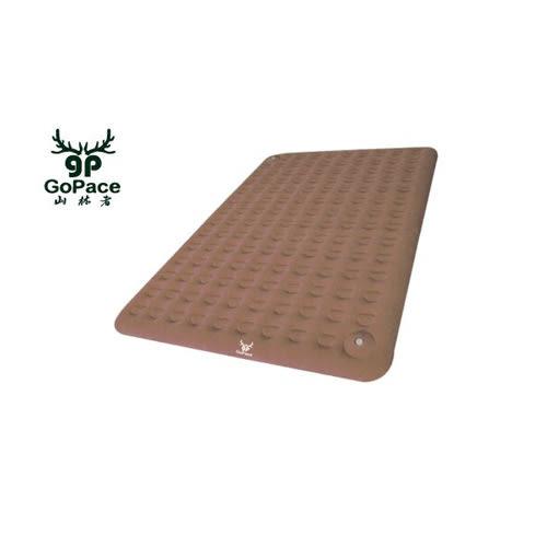 【山林者】露營達人三分鐘快速充氣床墊L號(摩卡棕) GPB001LM